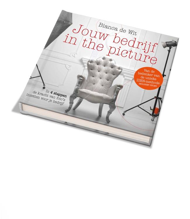 Fotograaf Utrecht - auteur - jouw bedrijf in the picture - cover 3d